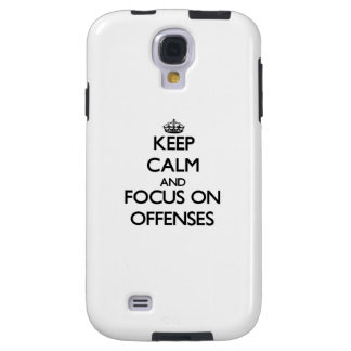 Keep Calm and focus on Offenses