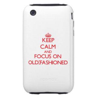 kEEP cALM AND FOCUS ON oLD-fASHIONED iPhone3 Case