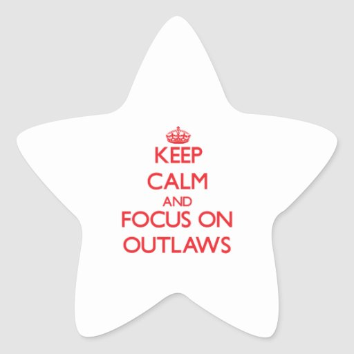 Keep Calm and focus on Outlaws Star Sticker