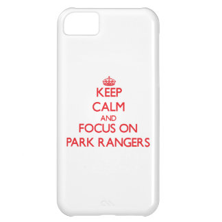 kEEP cALM AND FOCUS ON pARK rANGERS iPhone 5C Cover