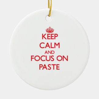 Keep Calm and focus on Paste Christmas Tree Ornaments