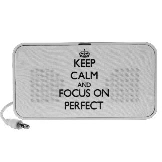 Keep Calm and focus on Perfect PC Speakers