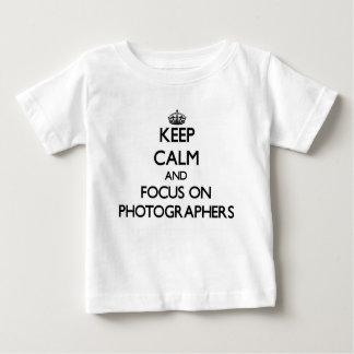 Keep Calm and focus on Photographers Tshirt