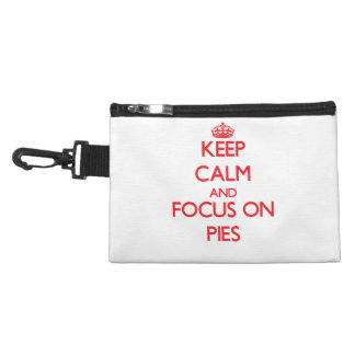 Keep Calm and focus on Pies Accessories Bag