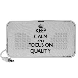 Keep Calm and focus on Quality Notebook Speakers