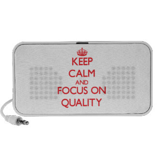 Keep Calm and focus on Quality Travel Speakers