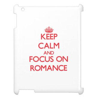 Keep Calm and focus on Romance iPad Covers