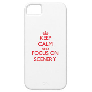 Keep Calm and focus on Scenery Case For iPhone 5/5S