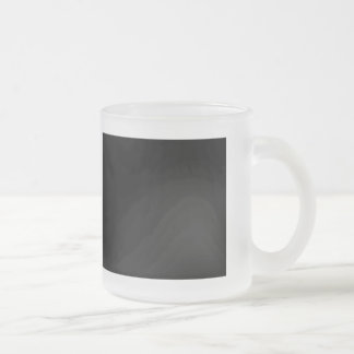 Keep Calm and focus on Shafts Frosted Glass Mug