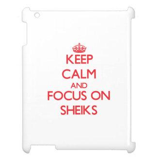 Keep Calm and focus on Sheiks iPad Cover