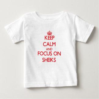 Keep Calm and focus on Sheiks Shirts