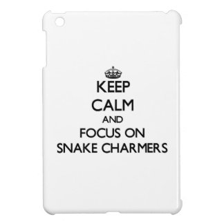 Keep Calm and focus on Snake Charmers iPad Mini Cover