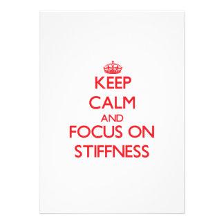 Keep Calm and focus on Stiffness Custom Invite
