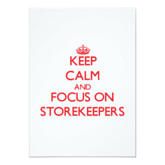 Keep Calm and focus on Storekeepers Invite