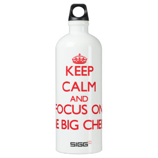 Keep Calm and focus on The Big Cheese SIGG Traveller 1.0L Water Bottle