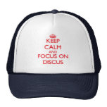 Keep calm and focus on The Discus