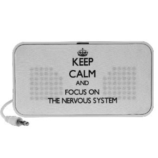 Keep Calm and focus on The Nervous System Speaker System