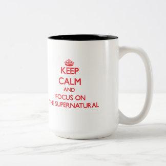 Keep Calm and focus on The Supernatural Mug