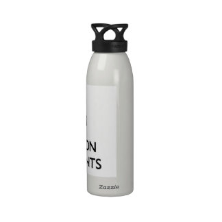 Keep Calm and focus on Transients Drinking Bottle