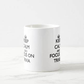 Keep Calm and focus on Trivia Mug