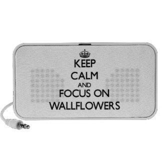 Keep Calm and focus on Wallflowers iPod Speaker
