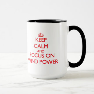 Keep Calm and focus on Wind Power