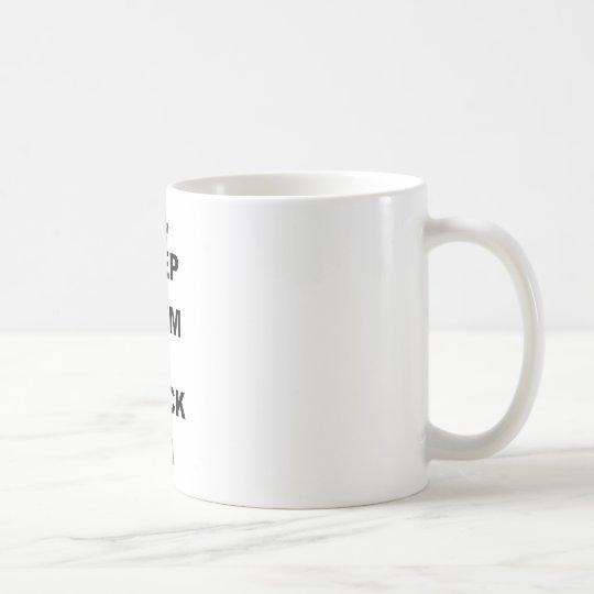 KEEP CALM AND FRACK ON COFFEE MUG