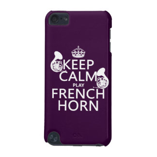 Keep Calm and French Horn (any background color) iPod Touch 5G Covers