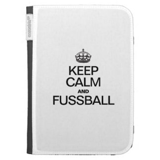 KEEP CALM AND FUSSBALL CASE FOR KINDLE