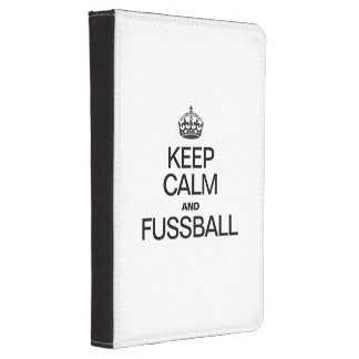 KEEP CALM AND FUSSBALL KINDLE TOUCH CASE