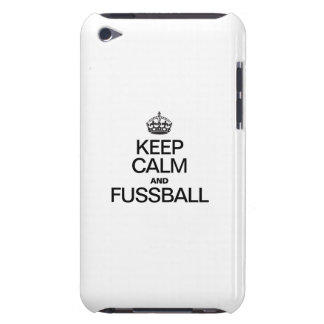 KEEP CALM AND FUSSBALL iPod Case-Mate CASE