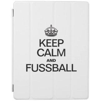 KEEP CALM AND FUSSBALL iPad COVER