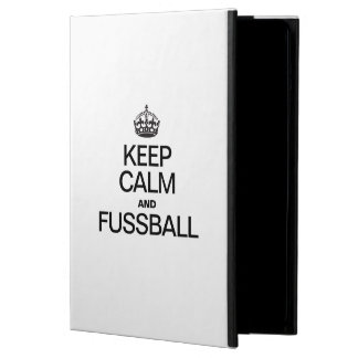 KEEP CALM AND FUSSBALL iPad AIR CASES