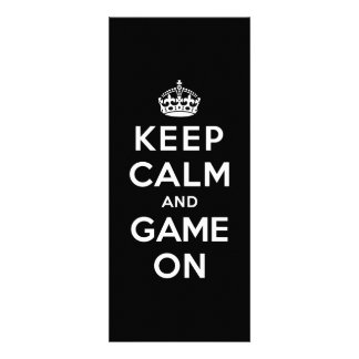 Keep Calm and Game On Invitations