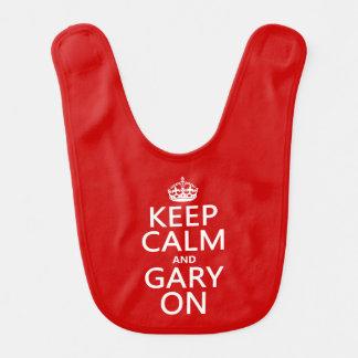 Keep Calm and Gary On Bibs