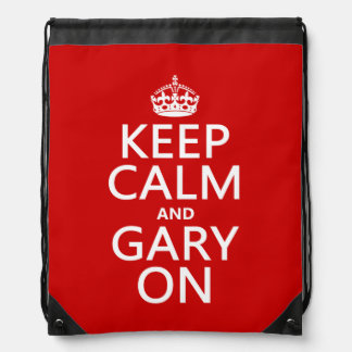 Keep Calm and Gary On Backpack