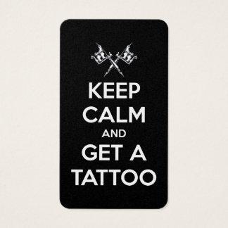 Keep calm and get a tattoo