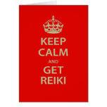 Keep Calm and Get Reiki