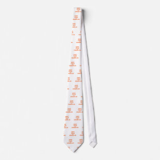 Keep Calm and Ginger On orange pink red Tie