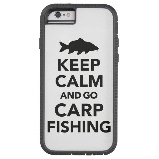 """Keep calm and go carp fishing"" iphone case"
