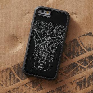 Keep Calm And Go Fast Car Race Mechanic Tough Xtreme iPhone 6 Case