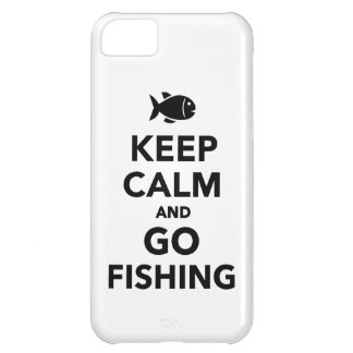 Keep calm and go fishing iPhone 5C cover