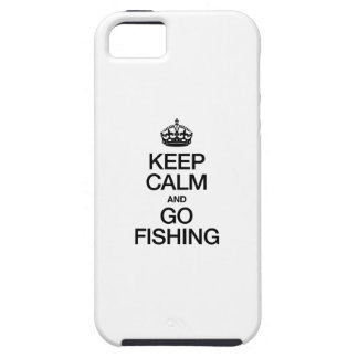 KEEP CALM AND GO FISHING CASE FOR THE iPhone 5