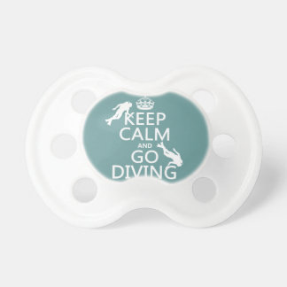 Keep Calm and Go (scuba) Diving (all colors) Dummy