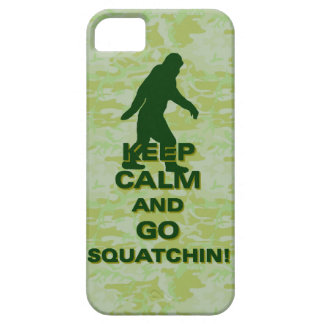 Keep calm and go squatchin iPhone 5 cases