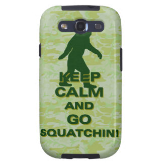 Keep calm and go squatchin samsung galaxy s3 covers