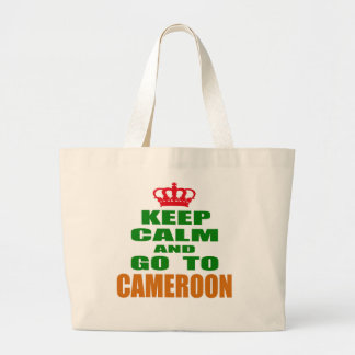 Keep calm and go to Cameroon. Canvas Bags