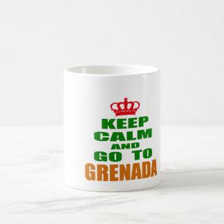 Keep calm and go to Grenada. Mugs
