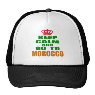 Keep calm and go to Morocco. Mesh Hat