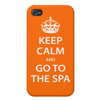 Keep Calm and Go To the Spa Cover For iPhone 4